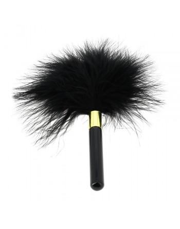 Plumeau noir - 17 cm