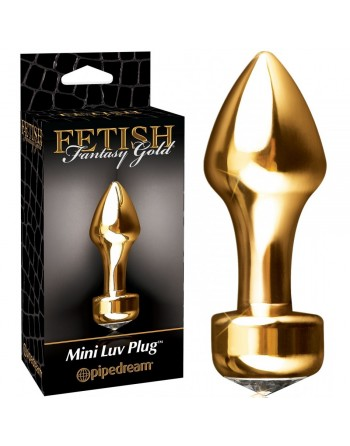 Gode anal Luv Plug Fetish Fantasy Gold