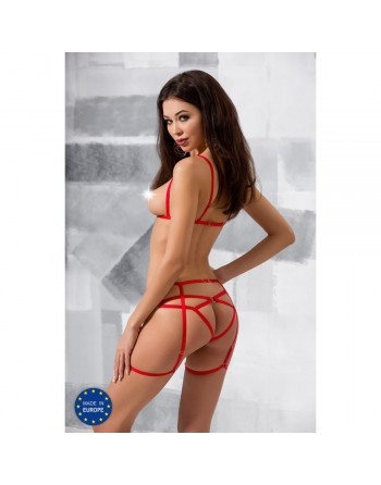 Ensemble Magali Set Rouge Devil - XXL-XXXL