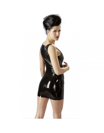 Robe en Latex Noir - L