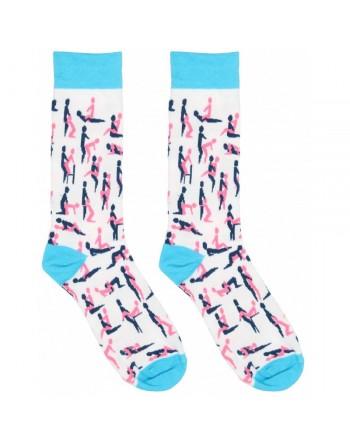 Chaussettes Sexy Socks Motifs Kama-Sutra - T 42-46