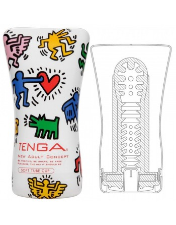 Masturbateur Tenga Keith Haring Soft Tube