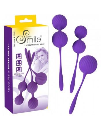 3 Boules de Geisha en Silicone Smile