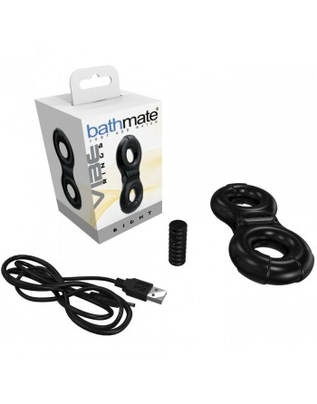 Double Cockring Rechargeable Bathmate Ring Eight