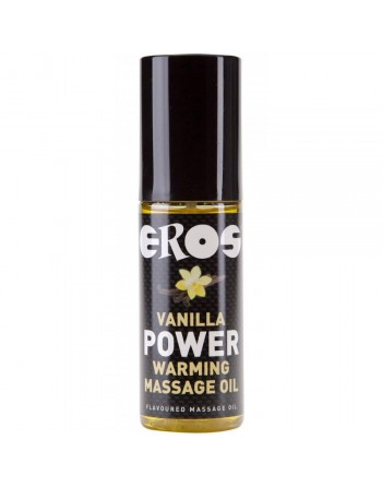 Huile de Massage Chauffante Saveur Vanille - 100 ml
