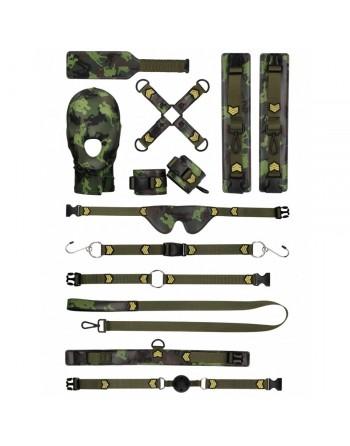 Coffret Bondage Camouflage