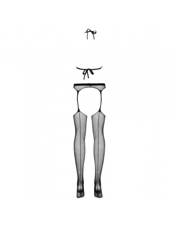 Combinaison Bodystocking noir N108 - SML