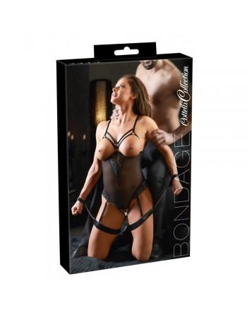 Body Bondage Ouvert avec Contraintes - XL