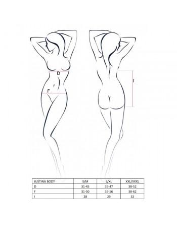 Body Justina Noir - L-XL