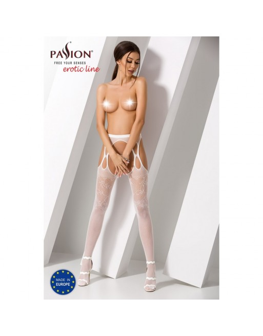 Collant Blanc Sexy S002 - TU