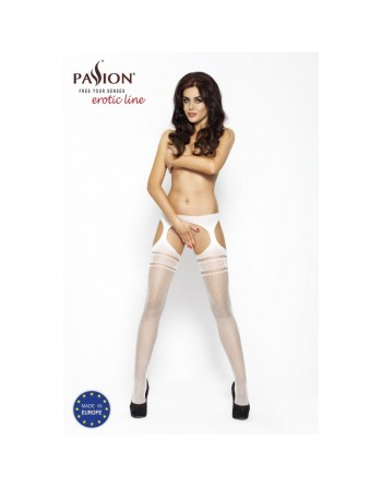 Collants blanc BS002 - TU