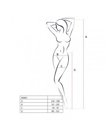 Collants blanc BS002 - TU