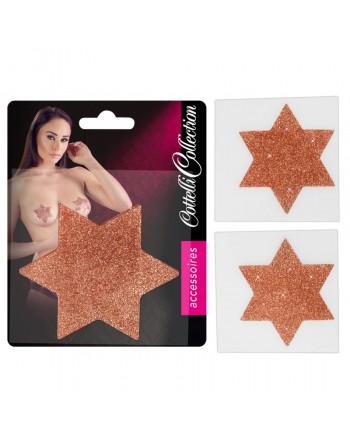 Sticker Pour Seins Titty Etoiles