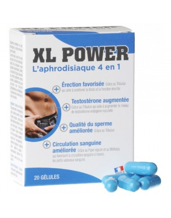 XL Power Erection - 20 gélules
