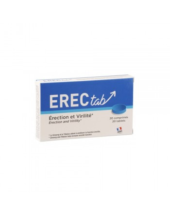 Erectab Erection et Vitalité - 20 Comprimés