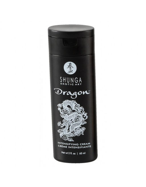 Creme de virilite Dragon par Shunga - 60 ml