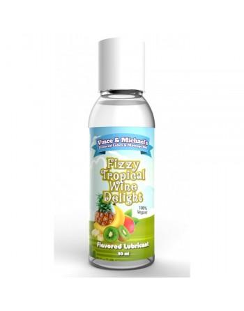 Lubrifiant VM Saveur Fruits Exotiques Vin Pétillant - 50 ml