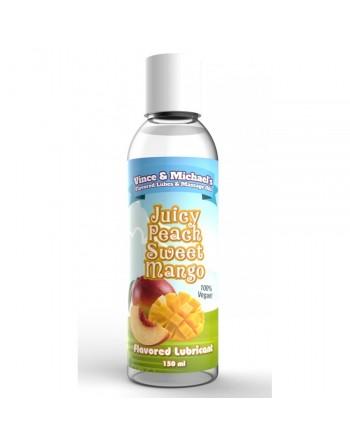 Lubrifiant VM Saveur Mangue Pêche - 50 ml