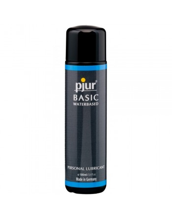 Lubrifiant Pjur Basic a Base d'Eau - 100 ml