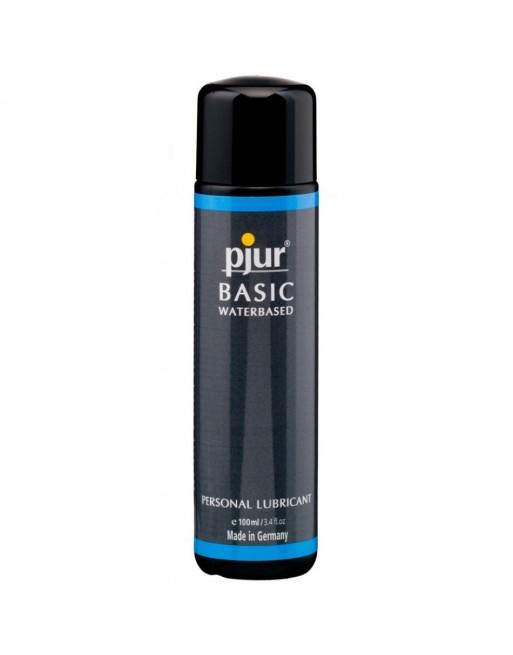 Lubrifiant Pjur Basic a Base d'Eau - 100 ml