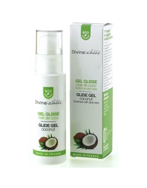 Gel Glisse Bio Noix de Coco - 100 ml
