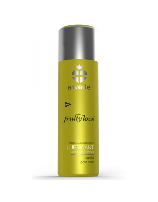 Lubrifiant Fruity Love Poire vanille - 50 ml