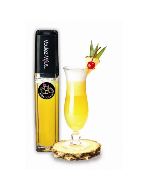 Gloss lumineux à effet chaud froid Piña Colada - 10 ml