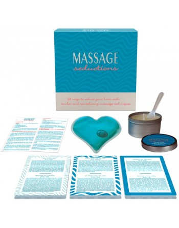 Coffret Jeu Massage Seductions