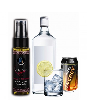 Huile de la Tentation Saveur Vodka Energy Drink - 35 ml