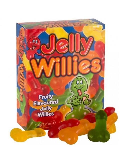 Bonbons Forme Penis Saveur Fruits - 120 g