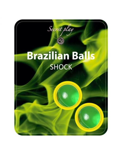 Boules Bresiliennes Shock Nature X2