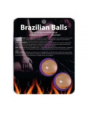 Boules Bresiliennes Effet Chauffant X2